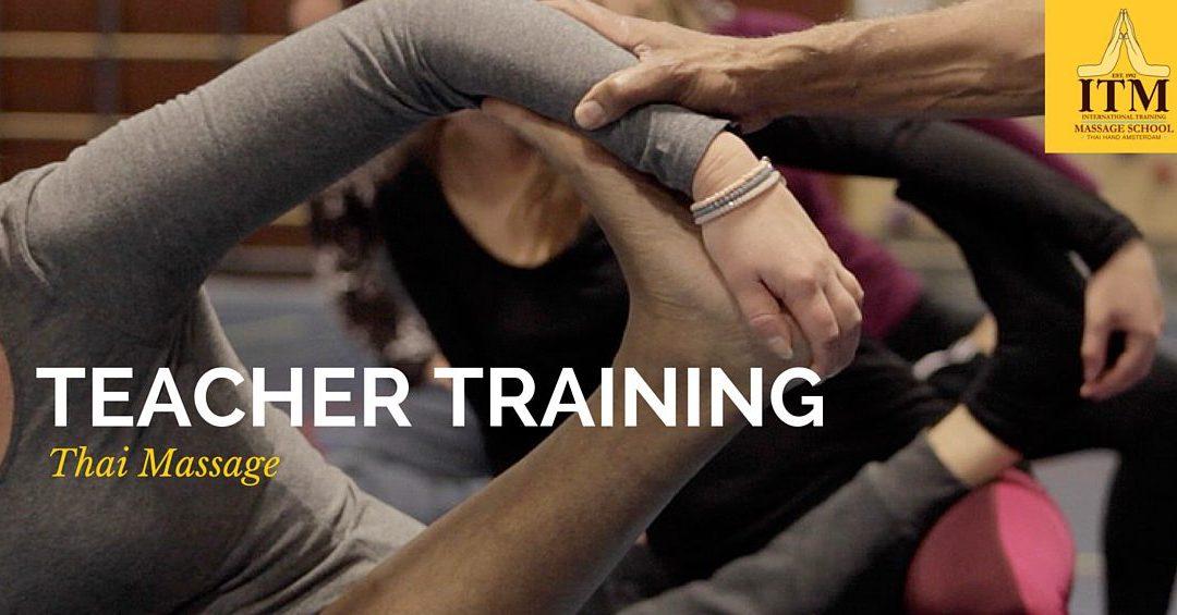 Why we set up a teacher training program in Thai Yoga Massage?
