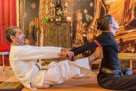 Thai Yoga Massage during Nuad Thai Program