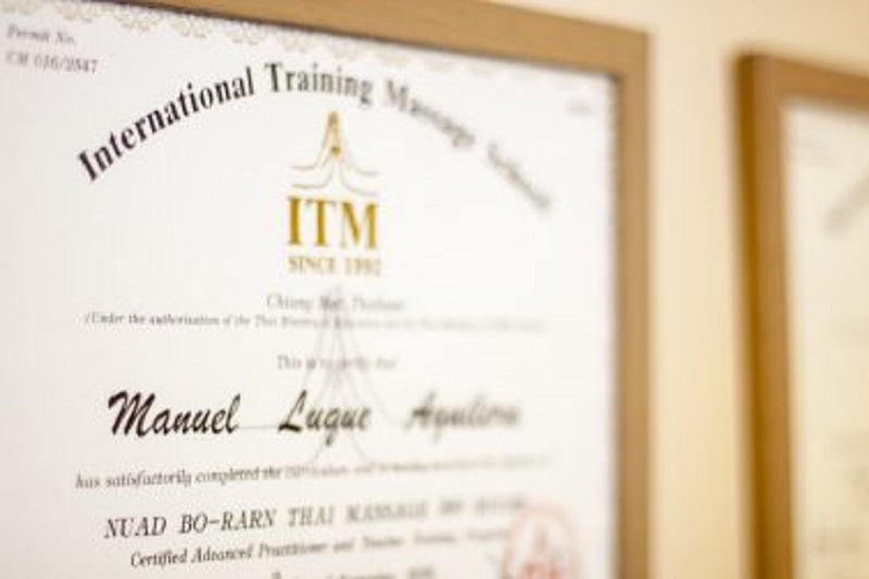 Advanced Nuad Thai Massage Program | Certificates-at-Thai-Hand